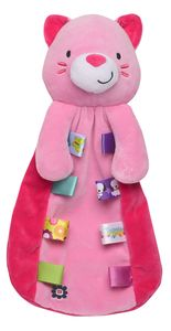 Taggies Kitty Cat Plush Baby Security Blanket