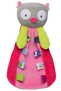 Taggies Owl Plush Baby Security Blanket