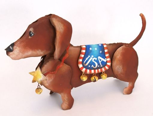 The Round Top Collection - Patriotic  Dachshund