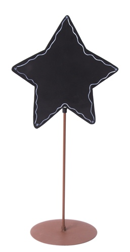 The Round Top Collection - Star Chalkboard Sign
