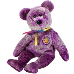 TY Beanie Babies Dreamer the Bear (BBOM Mar 2003)