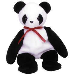TY Beanie Babies Fortune the Panda Bear