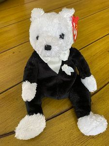 TY Beanie Babies Groom Wedding Bear 6""