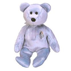 TY Beanie Babies Issy the Bear - Dallas
