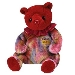 TY Beanie Babies July Birthday Bear
