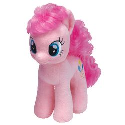 TY Beanie Babies My Little Pony - Pinkie Pie