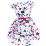 TY Beanie Babies Red White and Blue Bear
