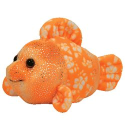 TY Beanie Babies Reefs the Orange Clown Fish