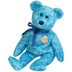 TY Beanie Babies Sparkles the Bear (BBOM Jan 2003)