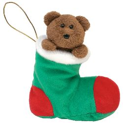 TY Beanie Babies Stockings the Bear Christmas