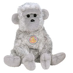 TY Beanie Babies Virunga the Monkey (BBOM June 2003)