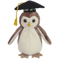 TY Beanie Babies Wise Owl - Class of 1998
