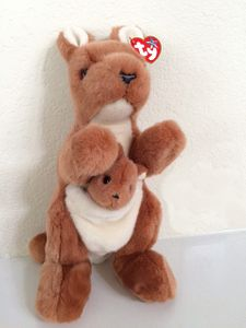 TY Beanie Buddy Pouch the Kangaroo (12 inches)