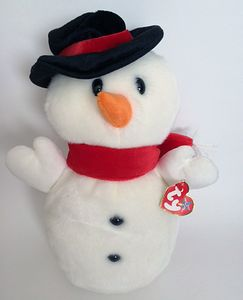 TY Beanie Buddy Snowball the Snowman (11 inches)