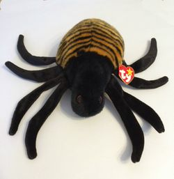 TY Beanie Buddy Spinner the Spider (11 inches)