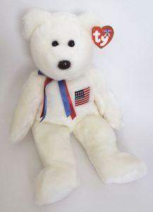 TY Beanie Buddy Libearty Bear (14 inches)