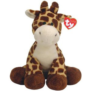 TY Pluffies Tiptop the Giraffe - 11""