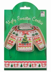 Ann Clark Cookie Cutters - Ugly Christmas Sweater