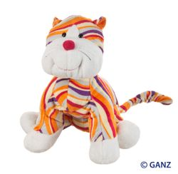 Webkinz Striped Cheeky Cat