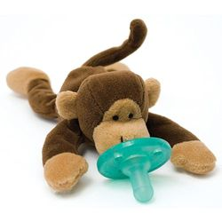 WubbaNub Baby Pacifier Soothie - Monkey
