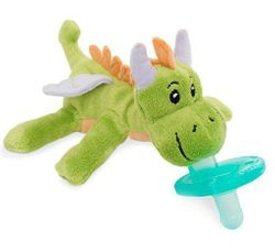 WubbaNub Baby Pacifier Soothie - Fairytale Green Dragon