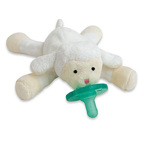 WubbaNub Baby Pacifier Soothie - Little Lamb