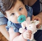 WubbaNub Baby Pacifier Soothie - Pink Elephant