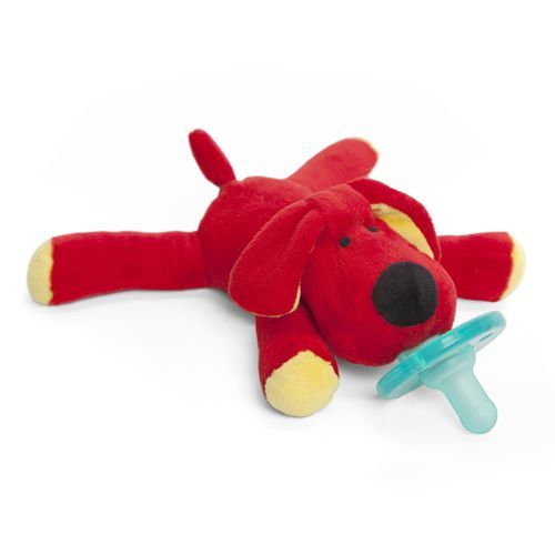 WubbaNub Baby Pacifier - Red Dog