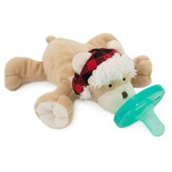 WubbaNub Baby Pacifier Soothie - Wooly Bear