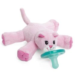 WubbaNub Baby Pacifier Soothie - Pink Kitty