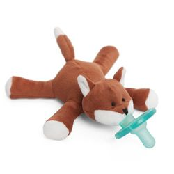 WubbaNub Baby Pacifier Soothie - Tiny Fox