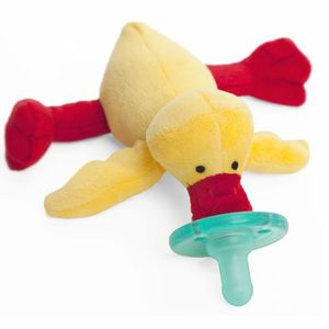 WubbaNub Baby Pacifier Soothie - Yellow Duck