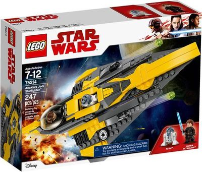 LEGO<sup>&reg; </sup>Star Wars<sup>TM</sup> <br>Anakin's Jedi Starfighter?