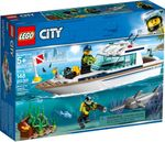 LEGO<sup>&reg; </sup>City <br>Diving Yacht