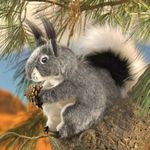 Folkmanis Puppet <br>Aberts Squirrel