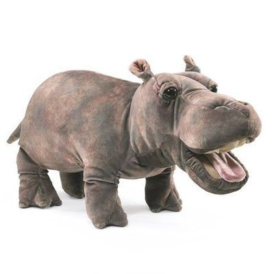 Folkmanis Puppet <br>Baby Hippo