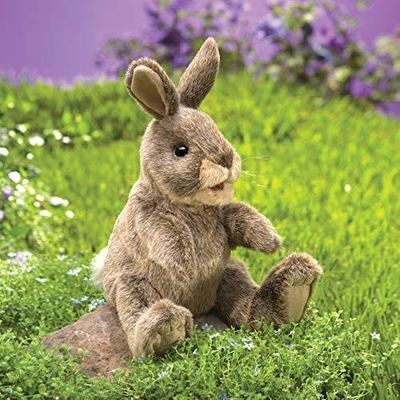 Folkmanis Puppet<br>Small Cottontail