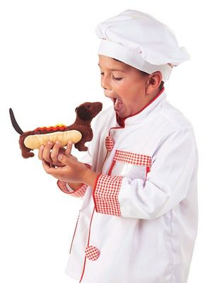 Folkmanis Puppet <br>Hot Dog