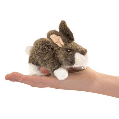 Folkmanis Puppet <br>Mini Cottontail
