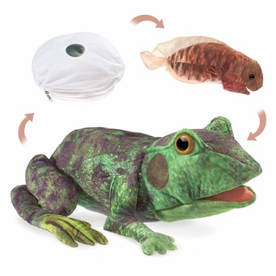 Folkmanis Puppet <br>Frog Life Cycle
