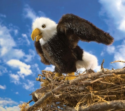 Folkmanis Puppet <br>Small Eagle