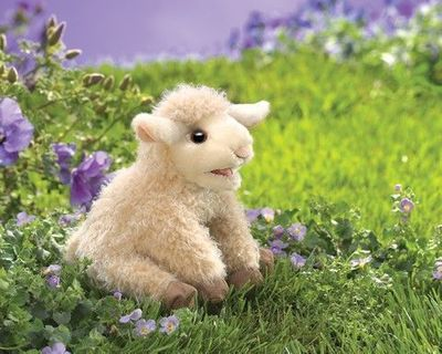 Folkmanis Puppet <br>Small Lamb