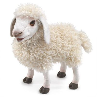 Folkmanis Puppet <br>Wooly Sheep