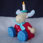 Haba <br>Moose with Candle