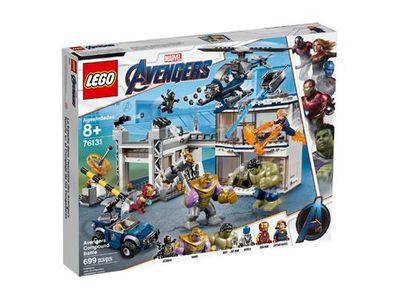 LEGO<sup>&reg; </sup> Super Heroes <br>Avengers Compound Battle