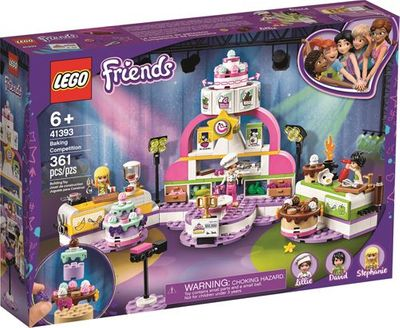 LEGO<sup>&reg; </sup>Friends <br>Baking Competition