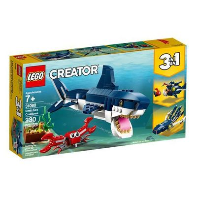 LEGO<sup>&reg; </sup> Creator <br>Deep Sea Creatures