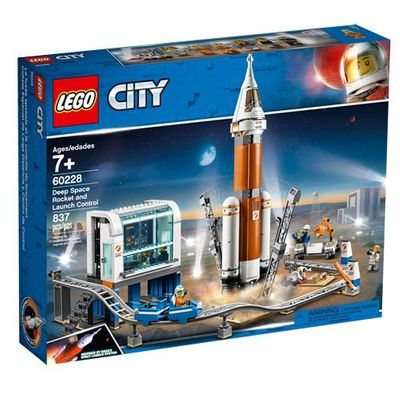 LEGO<sup>&reg; </sup> City <br>Deep Space Rocket and Launch Control