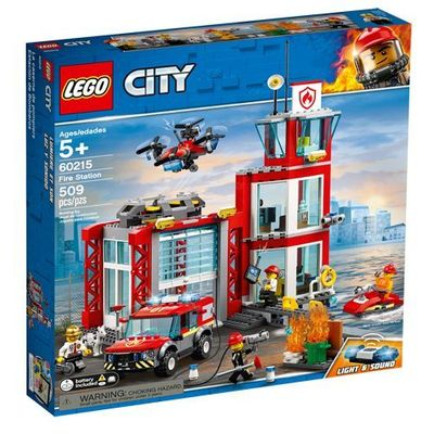 LEGO<sup>&reg; </sup> City <br>Fire Station