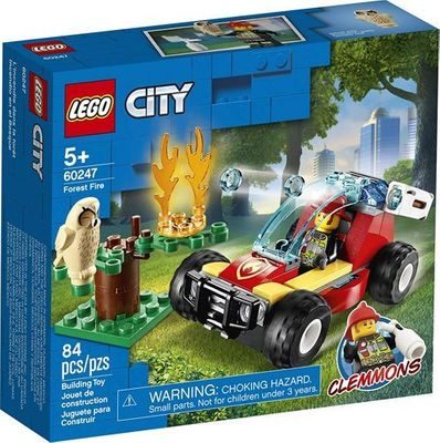 LEGO<sup>&reg; </sup>City <br>Forest Fire